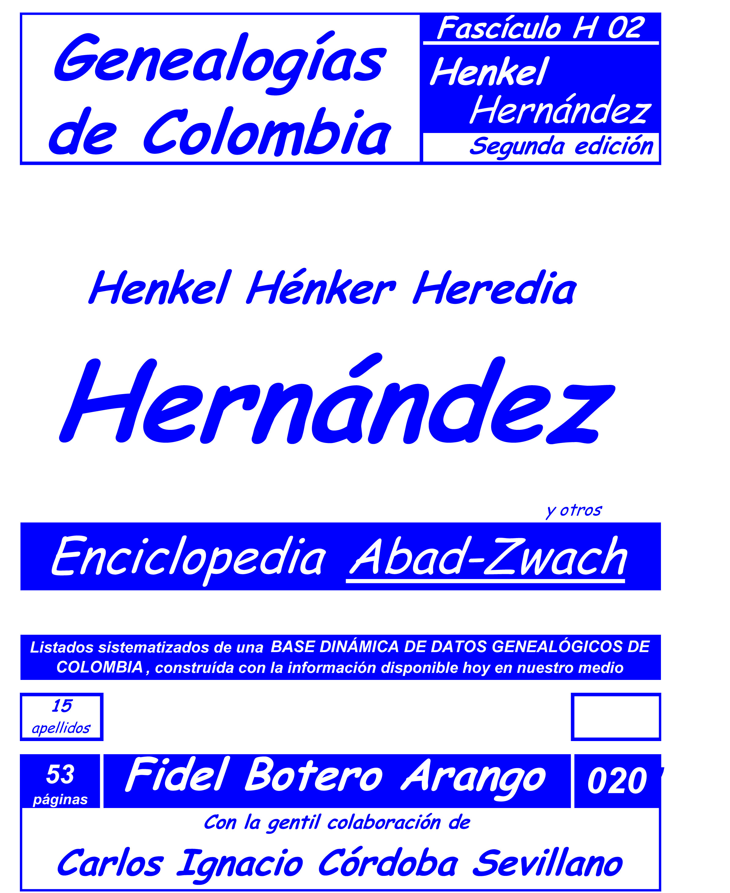 Apellido HEREDIA. Genealogías, historia, familias y ...