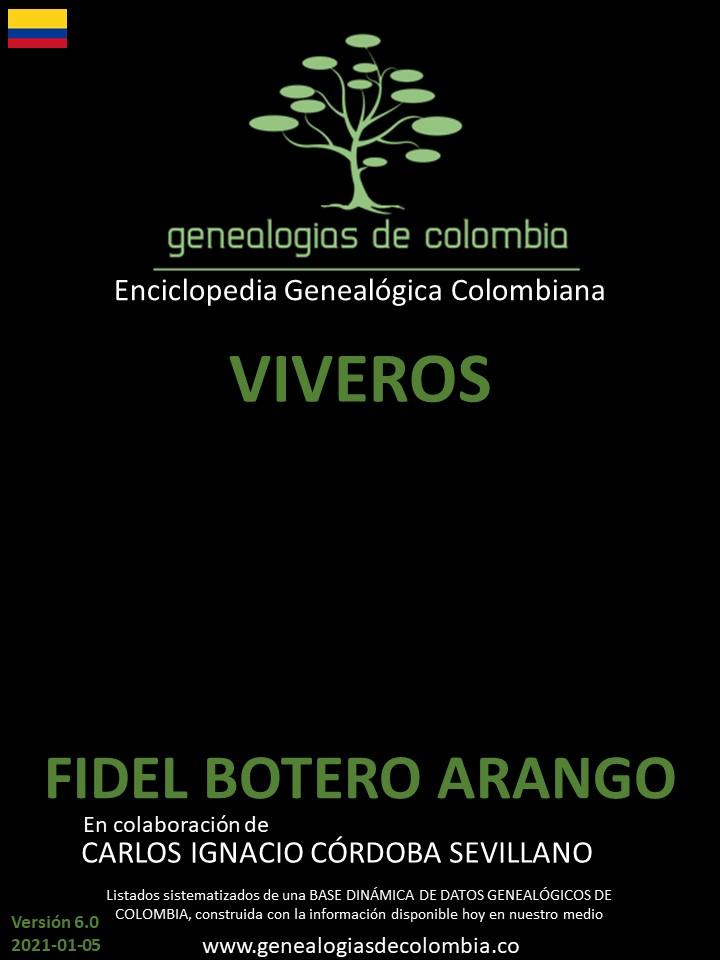 9fbc1975b90e Genealogías de la famila de apellido VIVEROS en Colombia